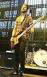 IRVINE, CA. - June 05: Jeremy Davis of Paramore  performs at the 2010 Los Angeles KROQ Weenie Roast at Verizon Wireless Amphitheater on June 5, 2010 in Irvine, California.
