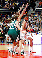 21/02/2014<br /> EUROLEAGUE BASKETBALL<br /> REAL MADRID - ZALGIRIS<br /> 15 JAVTOKAS Center (ZALGIRIS)<br /> 30 IOANNIS BOUROUSIS Center (REAL MADRID)