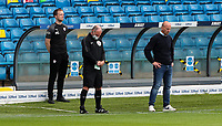 Barnsley manager Gerhard Struber observes a minute's silence for the late Jack Charlton<br /> <br /> Photographer Alex Dodd/CameraSport<br /> <br /> The EFL Sky Bet Championship - Leeds United v Barnsley - Thursday 16th July 2020 - Elland Road - Leeds<br /> <br /> World Copyright © 2020 CameraSport. All rights reserved. 43 Linden Ave. Countesthorpe. Leicester. England. LE8 5PG - Tel: +44 (0) 116 277 4147 - admin@camerasport.com - www.camerasport.com