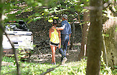 United States President Barack Obama and daughter Sasha take a walk at Great Falls Park, Sunday, June 29, 2014 in McLean, Virginia<br /> Credit: Olivier Douliery / Pool via CNP