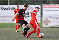 Kevin Bender (SKV Büttelborn) gegen Jannik Oberle (SG Unter-Abtsteinach) - Büttelborn 15.04.2018: SKV Büttelborn vs. SG Unter-Abtsteinach