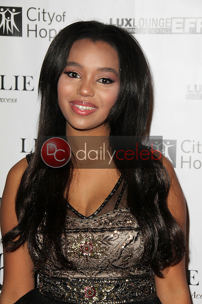 Daphne Blunt<br /> at Sue Wong's 'Fairies and Sirens' Fashion Show at L.A. Fashion Week. The Reef, Los Angeles, CA 10-15-14<br /> David Edwards/Dailyceleb.com 818-249-4998