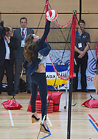 Kate, Duchess of Cambridge shows up her flat tummy - London