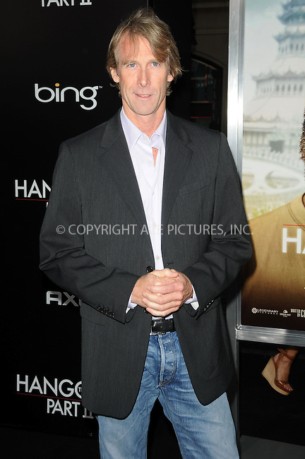 WWW.ACEPIXS.COM . . . . .  ....May 19 2011, Los Angeles....Michael Bay arriving at 'The Hangover II' Premiere at Grauman's Chinese Theatre on May 19, 2011 in Hollywood, California. ....Please byline: PETER WEST - ACE PICTURES.... *** ***..Ace Pictures, Inc:  ..Philip Vaughan (212) 243-8787 or (646) 679 0430..e-mail: info@acepixs.com..web: http://www.acepixs.com