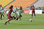 Atlético Nacional venció 3-0 (6-0 en el global) a Deportes Tolima. Cuartos de final vuelta Liga Águila Femenina I-2018.