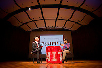 MIT - Sal Khan and Rafael Reif in conversation at Kresge