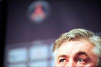 Carlo Ancelotti - nouvel entraineur du PSG