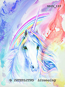 Marie, REALISTIC ANIMALS, REALISTISCHE TIERE, ANIMALES REALISTICOS, paintings+++++,USJO157,#A# ,Joan Marie, unicorn