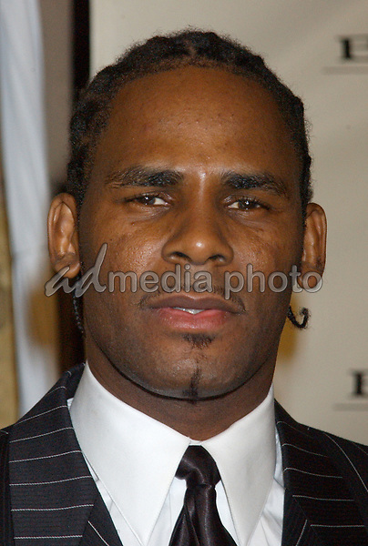 Feb. 8, 2004; Hollywood, CA, USA; Singer R.KELLY during the BMG 46th Annual Grammy Awards Post-Grammy Gala Celebration held at The Avalon. Mandatory Credit: Photo by Laura Farr/AdMedia. (©) Copyright 2003 by Laura Farr