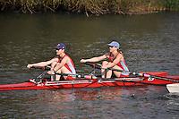 Wallingford Rowing Club Long Distance Sculls. Heads. River Thames. 4.25Km Moulsford Railway Bridge to Oxford University Boat Club, Wallingford. Satrurday 01 October 2011.