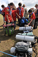 31 juillet 2011, 22e?me Jamboree Scout Mondial a? Rinkaby, Kristianstad, Sue?de, Photo © Jean-Pierre POUTEAU 2011