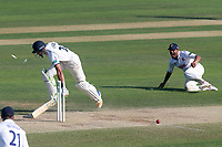 Ravi Bopara of Essex runs out Andrew Umeed during Essex CCC vs Warwickshire CCC, Specsavers County Championship Division 1 Cricket at The Cloudfm County Ground on 20th June 2017