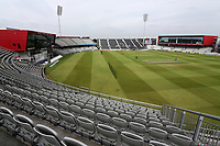 General view of the ground ahead of during Lancashire CCC vs Essex CCC, Specsavers County Championship Division 1 Cricket at Emirates Old Trafford on 9th June 2018