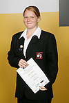 Weightlifting Girls Winner - Chantal Lambrechs. ASB College Sport Young Sportsperson of the Year Awards 2006, held at Eden Park on Thursday 16th of November 2006.<br />