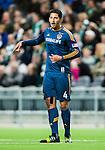 Stockholm 2015-02-16 Fotboll Tr&auml;ningsmatch Hammarby IF - LA Galaxy :  <br /> La Galaxys Omar Gonzalez gestikulerar under matchen mellan Hammarby IF och LA Galaxy <br /> (Foto: Kenta J&ouml;nsson) Nyckelord:  Fotboll Tr&auml;ningsmatch Tele2 Arena Hammarby HIF Bajen Los Angeles LA Galaxy portr&auml;tt portrait