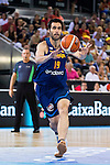 Spain's basketball player Fernando San Emeterio during the  match of the preparation for the Rio Olympic Game at Madrid Arena. July 23, 2016. (ALTERPHOTOS/BorjaB.Hojas)