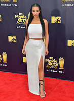 Kim Kardashian West at the 2018 MTV Movie &amp; TV Awards at the Barker Hanger, Santa Monica, USA 16 June 2018<br /> Picture: Paul Smith/Featureflash/SilverHub 0208 004 5359 sales@silverhubmedia.com