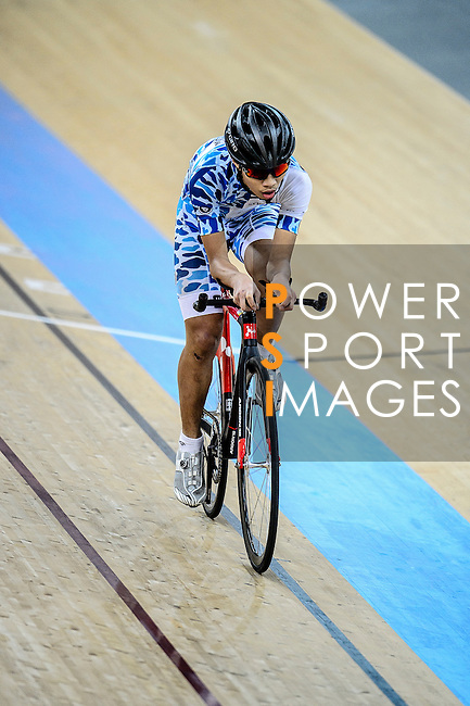 Tai Wai Hin of Noble Cycling Team hk during the Indiviual Pursuit Youth Qualifying (3KM) Track Cycling Race 2016-17 Series 3 at the Hong Kong Velodrome on February 4, 2017 in Hong Kong, China. Photo by Marcio Rodrigo Machado / Power Sport Images