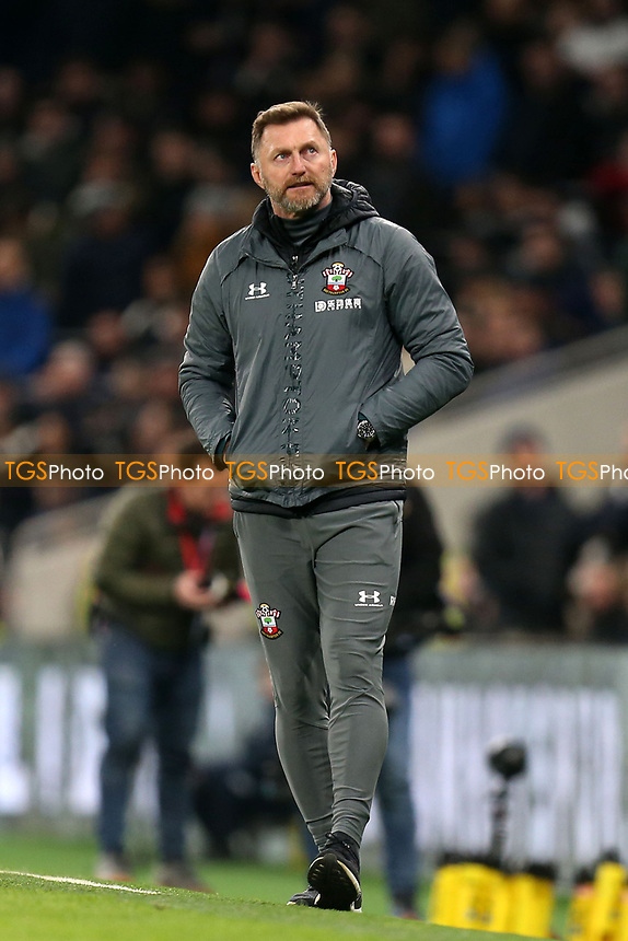 Southampton manager Ralph Hasenhüttl during Tottenham Hotspur vs Southampton, Emirates FA Cup Football at Tottenham Hotspur Stadium on 5th February 2020