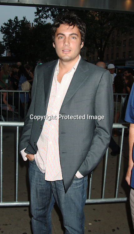 """Fabien Basabe..at The New York Premiere of """"Material Girls"""" starring ..Hilary Duff and Haylie Duff on August 14, 2006 at ..Chelsea West Cinemas. ..Robin Platzer, Twin Images"""