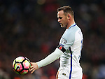 England's Wayne Rooney in action during the World Cup Qualifying  match at Wembley Stadium, London. Picture date November 11th, 2016 Pic David Klein/Sportimage