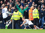 Tottenham's Harry Kane celebrates scoring his sides second goal<br /> <br /> - English Premier League - Tottenham Hotspur vs Arsenal  - White Hart Lane - London - England - 5th March 2016 - Pic David Klein/Sportimage