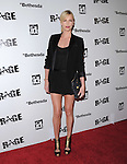 Charlize Theron  attends the official launch party for the most anticipated video game of the year RAGE in ChinaTown in Los Angeles, California on September 30,2011                                                                               © 2011 Hollywood Press Agency