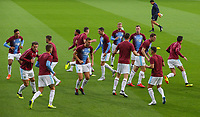 Burnley players warm up<br /> <br /> Photographer Alex Dodd/CameraSport<br /> <br /> UEFA Europa League - Third Qualifying Round 2nd Leg - Burnley v Istanbul Basaksehir - Thursday 16th August 2018 - Turf Moor - Burnley<br />  <br /> World Copyright © 2018 CameraSport. All rights reserved. 43 Linden Ave. Countesthorpe. Leicester. England. LE8 5PG - Tel: +44 (0) 116 277 4147 - admin@camerasport.com - www.camerasport.com