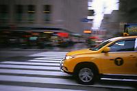Taxi, New York, USA, 2013