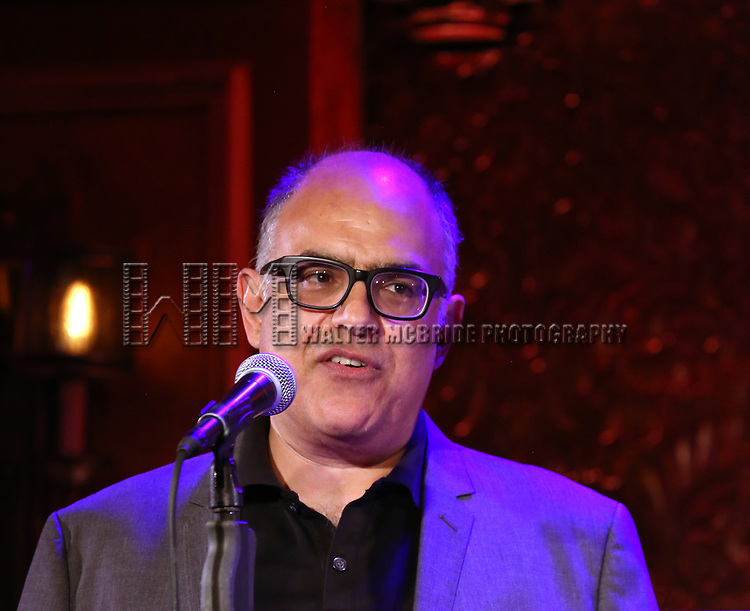 David Yazbek attends 2017 New York Drama Critics' Circle Awards Reception at Feinstein's/54 Below on May 18, 2017 in New York City.