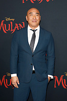 """LOS ANGELES - MAR 9:  Ron Yuan at the """"Mulan"""" Premiere at the Dolby Theater on March 9, 2020 in Los Angeles, CA"""