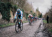 Tom Van Asbroeck (BEL/Israel Cycling Academy)<br /> <br /> 51th Le Samyn 2019 <br /> Quaregnon to Dour (BEL): 200km<br /> <br /> ©kramon