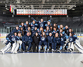 Quebec, QC - Oct 31 2017 - Team Quebec at the National Womens Under 18 Championship at the Pavillon de la Jeunesse in Quebec, Quebec, Canada (Photo: Matthew Murnaghan/Hockey Canada Images)