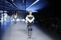 SAO PAULO, SP, 28.10.2016 - SPFW-MEMO - Modelo durante desfile da grife Memo, durante o São Paulo Fashion Week edição 42 no Parque do Ibirapuera, na tarde desta sexta-feira, 28 (Foto: Adriana Spaca/Brazil Photo Press)