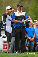 Brooks Koepka (USA) looks over his tee shot on 6 during round 4 of the 2019 PGA Championship, Bethpage Black Golf Course, New York, New York,  USA. 5/19/2019.<br /> Picture: Golffile | Ken Murray<br /> <br /> <br /> All photo usage must carry mandatory copyright credit (© Golffile | Ken Murray)