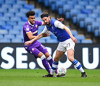 Bolton Wanderers' Derik Osede vies for possession with Sheffield Wednesday's George Boyd<br /> <br /> Photographer Chris Vaughan/CameraSport<br /> <br /> The EFL Sky Bet League Two - Mansfield Town v Lincoln City - Tuesday 6th March 2018 - Field Mill - Mansfield<br /> <br /> World Copyright &copy; 2018 CameraSport. All rights reserved. 43 Linden Ave. Countesthorpe. Leicester. England. LE8 5PG - Tel: +44 (0) 116 277 4147 - admin@camerasport.com - www.camerasport.com
