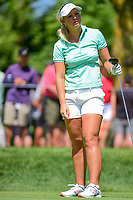Emily Pedersen (DEN) watches her tee shot on 2 during Saturday's round 3 of the 2017 KPMG Women's PGA Championship, at Olympia Fields Country Club, Olympia Fields, Illinois. 7/1/2017.<br /> Picture: Golffile | Ken Murray<br /> <br /> <br /> All photo usage must carry mandatory copyright credit (&copy; Golffile | Ken Murray)