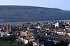 view over Bingerbrück, Bingen and the Rhine valley towards the hills of the Taunus with the Germania monument<br /> <br /> vista sobre Bingerbrück, Bingen y el valle del Rhin al Taunus con el Germania momnumento<br /> <br /> Blick über Bingerbrück, Bingen und das Rheintal auf die Taunushügel mit dem Germania-Denkmal<br /> <br /> Original: 35 mm slide transparancy