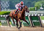 June 7, 2019 : #7 Separationofpowers, ridden by jockey Jose Ortiz, wins the Bed O' Roses Invitational on Belmont Stakes Festival Friday at Belmont Park in Elmont, New York. Kaz Ishida/Eclipse Sportswire/CSM