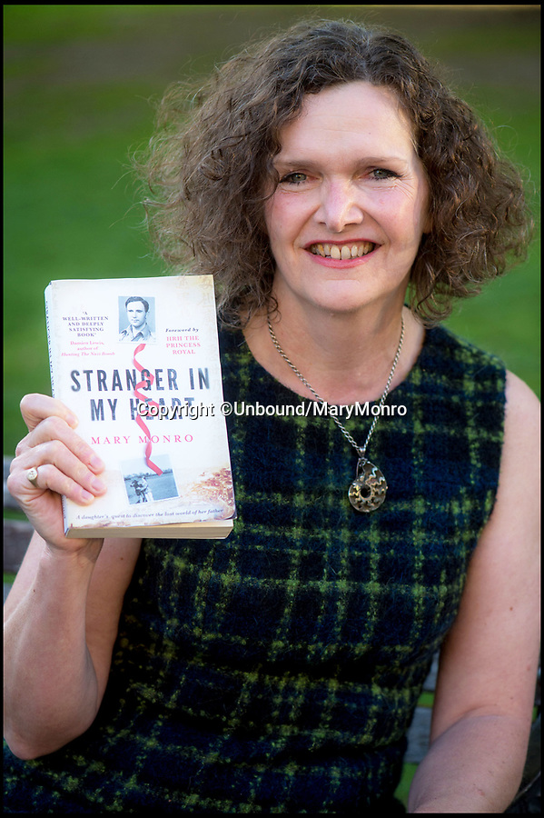 BNPS.co.uk (01202 558833)Pic: Unbound/MaryMonro/BNPS<br /> <br /> Author Mary Munro.<br /> <br /> A hero British officer's dramatic escape from a Japanese POW camp can finally be told after his war diaries came to light 76 years later.<br /> <br /> Major John Monro was captured at the Battle of Hong Kong in December 1941 but two months later successfully escaped from the notorious Japanese POW camp at Sham Shui Po.<br /> <br /> He sneaked through a hole in the barbed wire at the perimeter of the water locked camp then waded into the sea, dragging a life raft he had built out of any materials he could muster behind him while trying to avoid detection.<br /> <br /> Upon reaching land, he disappeared into the dense Chinese countryside and embarked on an epic 1,200 mile trek across inhospitable terrain to reach China's wartime capital at Chongqing, reaching the destination two months later.