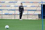 Getafe's coach Jose Bordalas during training session. May 15,2020.(ALTERPHOTOS/Acero)