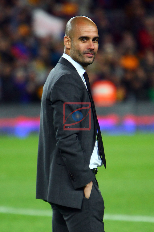 Pep Guardiola. FC Barcelona vs RCD Espanyol: 4-0 - League BBVA 2011/12 - Game: 37.