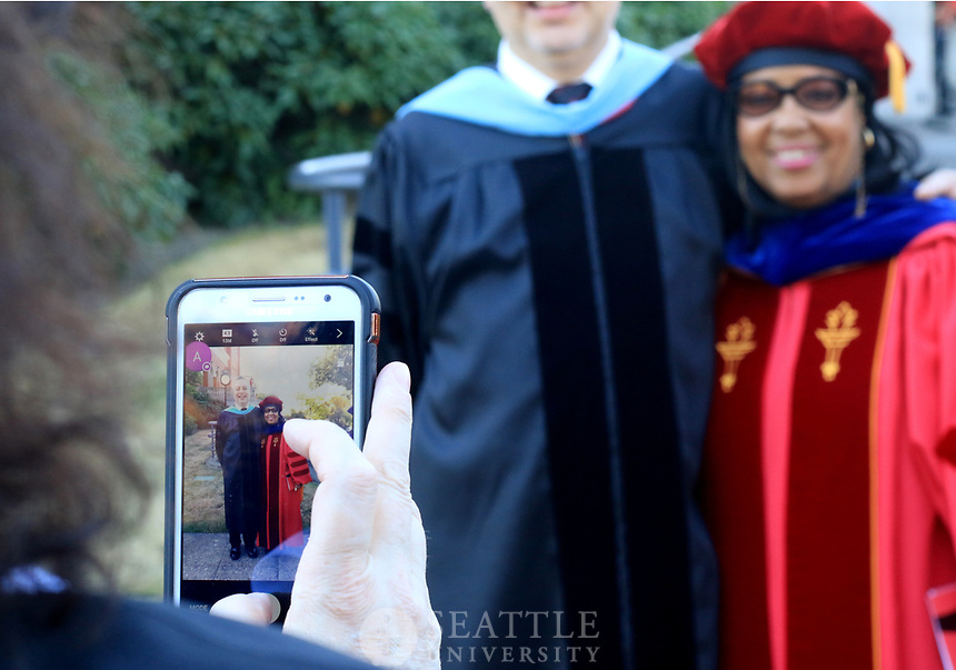 September 28th, 2017- Seattle University faculty, staff and students take part in the Mass of the Holy Spirit to kick off the 2017-18 academic year on campus.