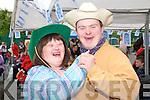 KP& F Garden Fate : Attending the annual Listowel branch of Kerry Parents & Friends Garden Fete were Sinead Joy & Brendan O'Sullivan.