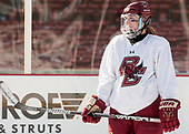 Kali Flanagan (BC - 10) - The Boston College Eagles practiced at Fenway on Monday, January 9, 2017, in Boston, Massachusetts.Kali Flanagan (BC - 10) - The Boston College Eagles practiced at Fenway on Monday, January 9, 2017, in Boston, Massachusetts.