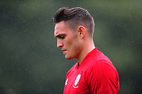 Connor Roberts of Wales during the Wales Training Session and Press Conference at The Vale Resort in Cardiff, Wales. September 3, 2018