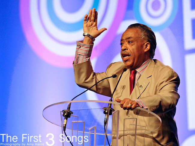 Reverend Al Sharpton speaks during the Empowerment Experience of the 2011 Essence Music Festival on July 2nd, 2011 at the Ernest N. Morial Convention Center in New Orleans, Louisiana.