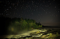 """Curtain Falls under the Stars""<br />