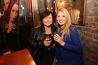 Cecilia Chien and Nicole Zayatz attend the private screening of ABC's new show Selfie at the Wythe Hotel's cinema in Brooklyn on September 24, 2014