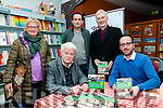 Book Launch : Martha Woulfe, Cllrs. Jimmy Moloney & Liam Purcell pictured with authors Gordon Revington & Eoin O'Shea at their book signing at Woulfe's Book Shop, Listowel on Saturday afternoon last.